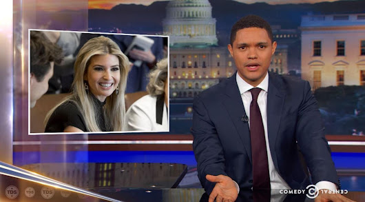 Trevor Noah went to an incest place with Ivanka Trump