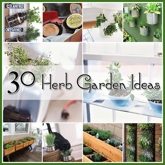 Herb Gardens 30 great Herb Garden Ideas - The Cottage Market