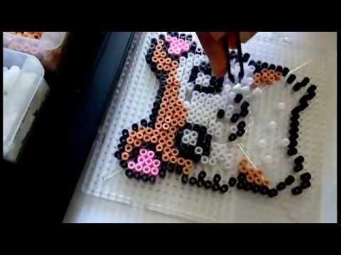 Video : Timelapse PErler Beads Making Hamtaro