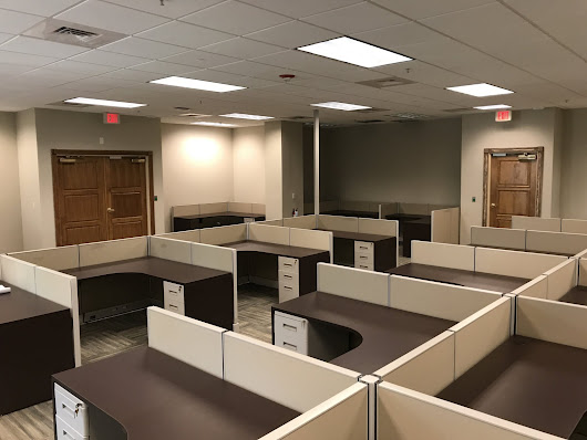 Office Furniture Installation at Herc Rentals in Bonita Springs FL