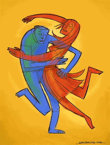 Illustration Friday: Dance