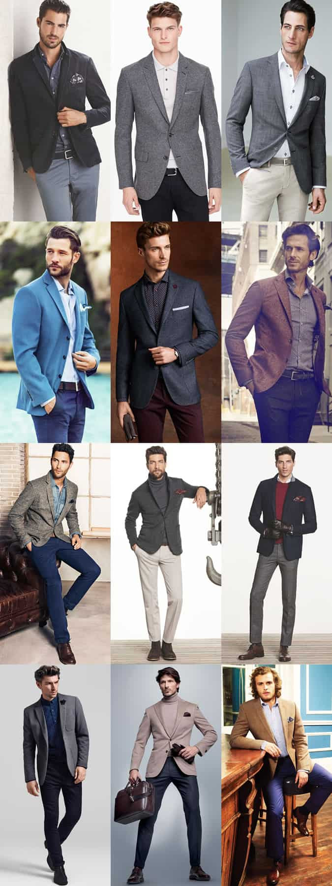 Men's Date Outfit Inspiration Lookbook - Tailored Separates - The Fancy Restaurant Date