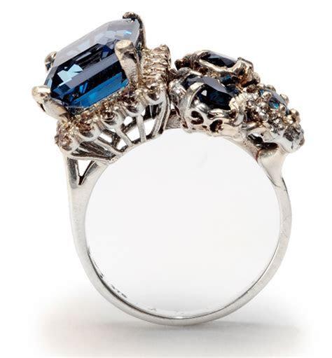 Unique Engagement Rings By Julia de Ville   Polka Dot Bride