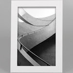 """4"""" x 6"""" Thin Single Image Frame White - Made By Design"""