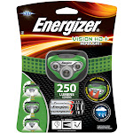 Energizer 250 lumens Green LED Headlight AAA Battery