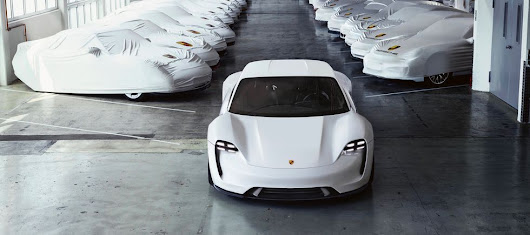 Porsche Taycan Photos & News - What to Know About Porsche's First All-Electric Car for 2020