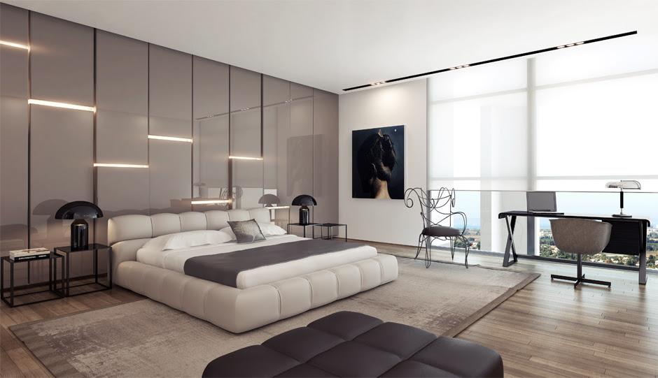 Modern bedroom desig