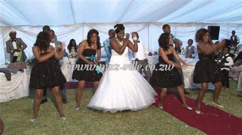 Zimbabwe Wedding Dance   Personally Psquare   YouTube