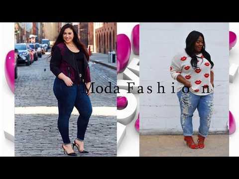 Vestidos jeans para damas 2019