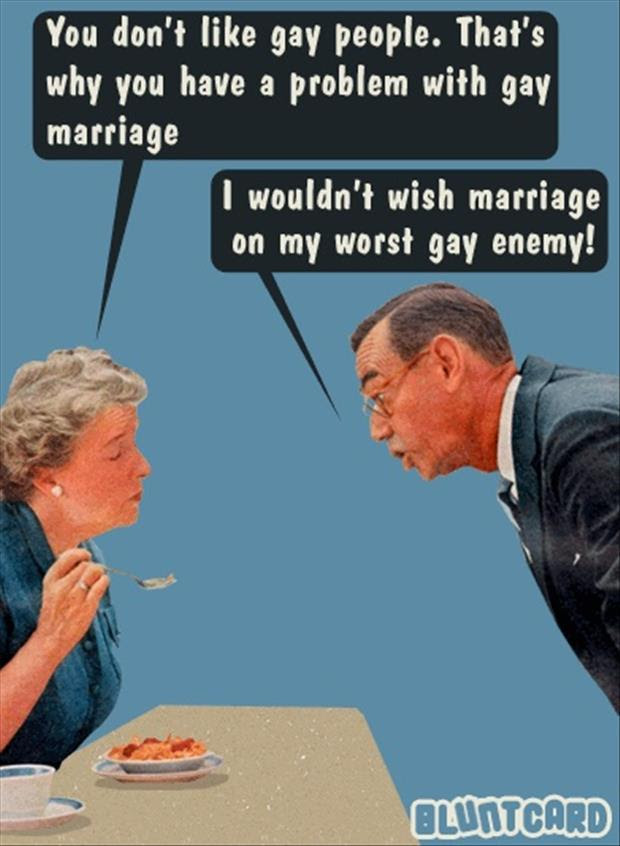 Funny Gay Marriage Dump A Day