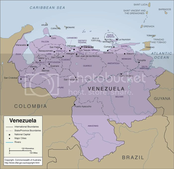 Map Of Venezuela Pictures, Images and Photos