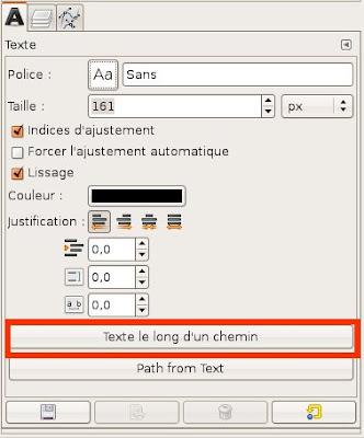 Gimp Texte Le Long D'un Chemin : texte, chemin, Texte, Chemin, Exemple