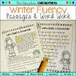 Winter Reading Fluency and Word Work