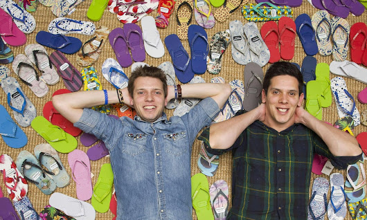 Gandys Flip Flop founders Rob and Paul Forkan warn against exporting flops