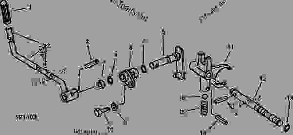 30 John Deere 1050 Parts Diagram