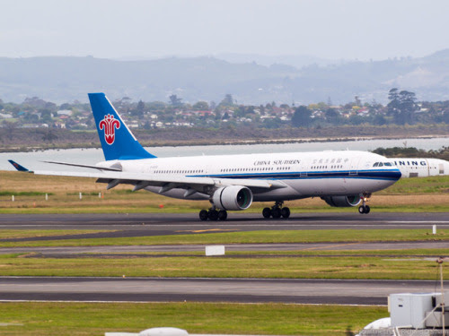 New Zealand Aircraft • China Southern Airlines A330-200 at Auckland   ...