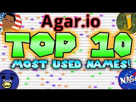 Top 12 Agar io Names - Gorgeous Tiny