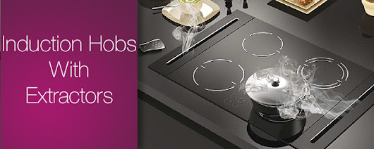 Induction Hob With Extractor