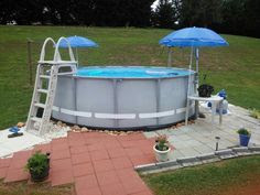 How To Landscape Around An Above Ground Pool Inyopoolscom