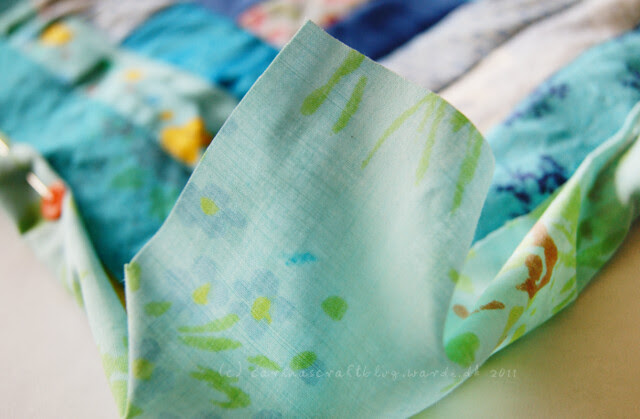 Tutorial: quilt self binding step 6