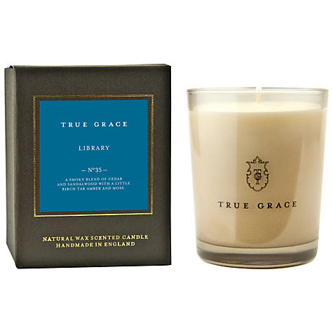 Buy True Grace Library Scented Classic Candle Online at johnlewis.com