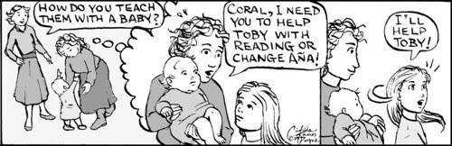 Home Spun comic strip #329