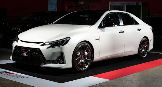 Toyota Mark X GRMN Returns With RWD, 313 HP And Carbon Fiber Roof | Carscoops