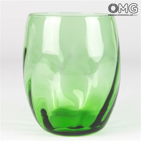 Drinking Glass Tumbler Set   Twisted Oval