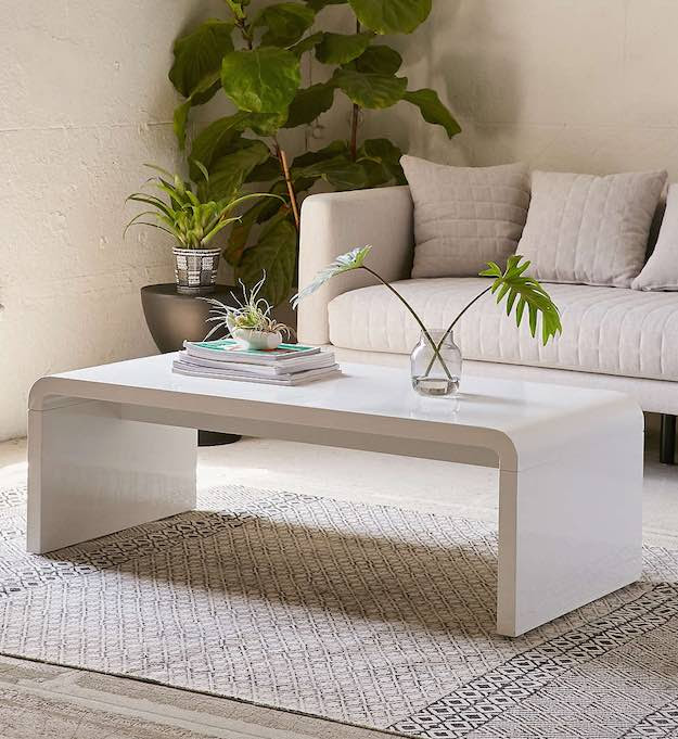 15 Narrow Coffee Table Ideas For Small Spaces   Living ...