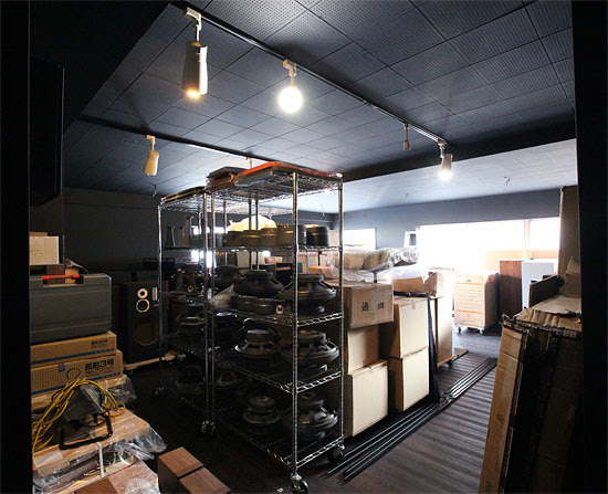 stockroom in black