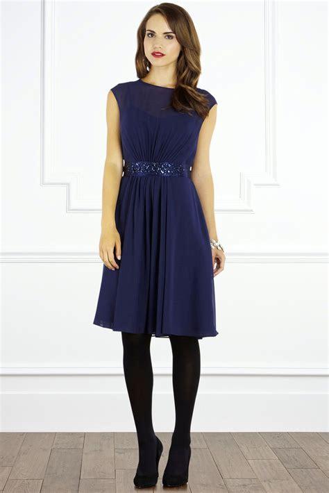 Lori Lee Short Dress Navy Wedding Dress from Coast