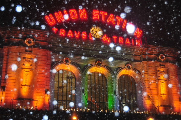 Union Station with Flash