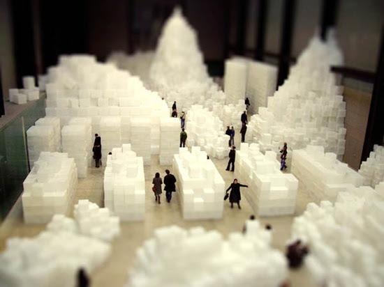 Tilt-shift: Tate Modern, London
