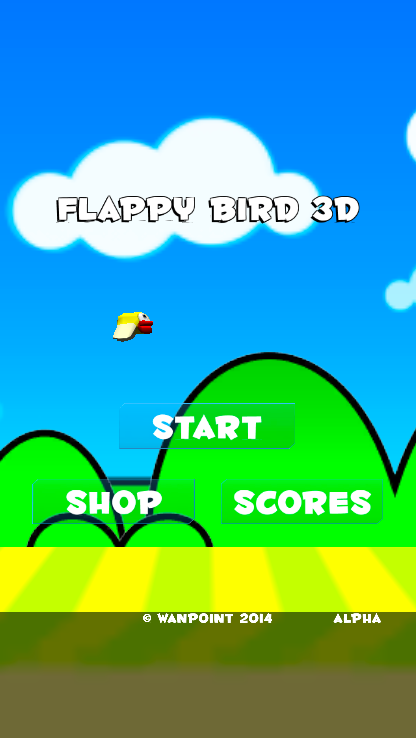 Before Fly Kitty! : Flappy Bird 3D - Wanpoint