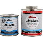 Alvin 14 oz Lab Metal Hi Temp Repair Patching Epoxy & 16oz Lab Solvent
