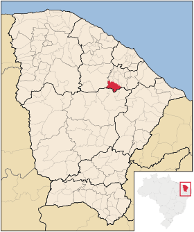 Localização de Itapiúna