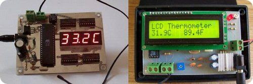 at89s52_thermistor_thermomet là