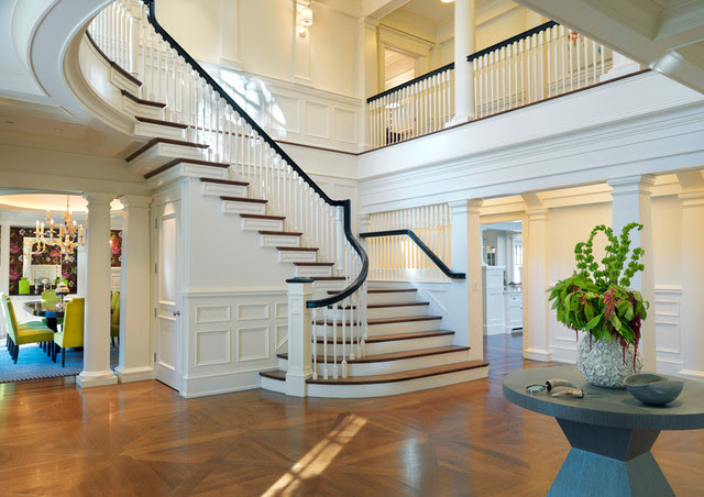 carpet-runners-for-stairs-Staircase-Traditional-with ...