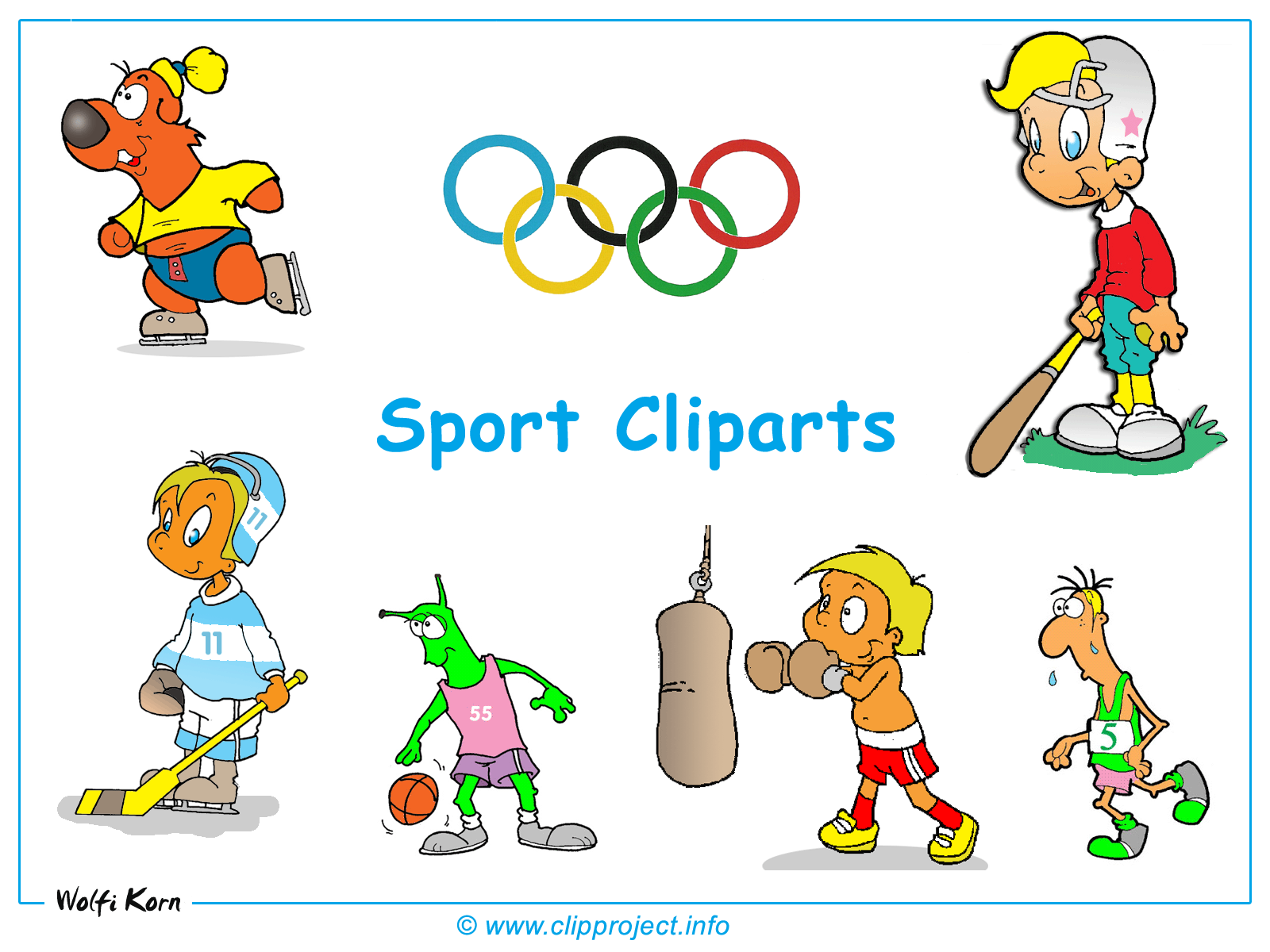 Sports Clipart Black And White | Clipart Panda - Free ...