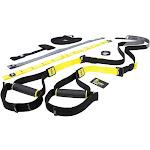TRX Commercial Suspension Trainer v.4 (rubber handles, locking carabiner, velcro foot cradles)