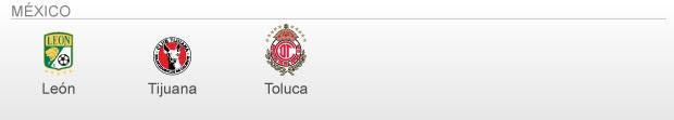 info Classificados e Vagas Libertadores 2013 - méxico (Foto: arte esporte)