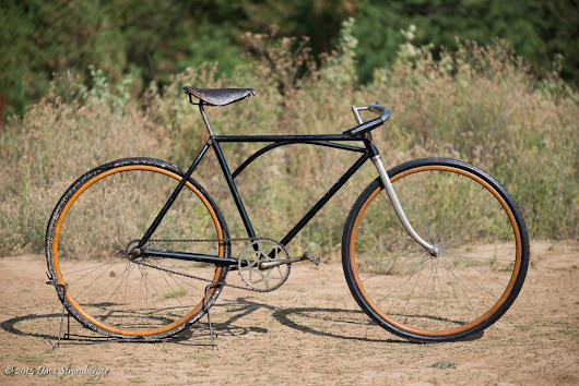1931 Iver Johnson Truss Bridge Roadster - Dave's Vintage Bicycles