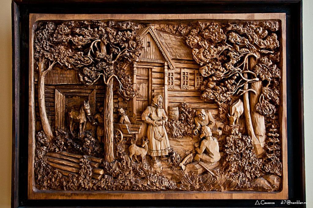 As incríveis pinturas esculpidas de Kronid Gogolev 13