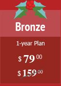 Bronze Plan $80 instead of $159
