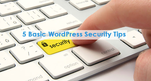 5 Basic WordPress Security Tips - safairis.com