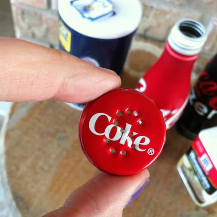 Homemade Coca Cola Salt N Pepper Shakers Isavea2zcom