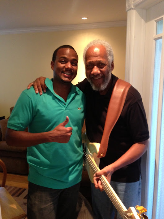 4th Metric learns from Legendary Bassist, Chuck Rainey