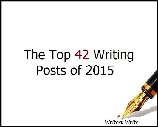 The Top 42 Writing Posts of 2015