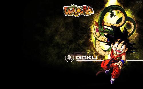 wallpaper goku. Wall Goku Shenlong