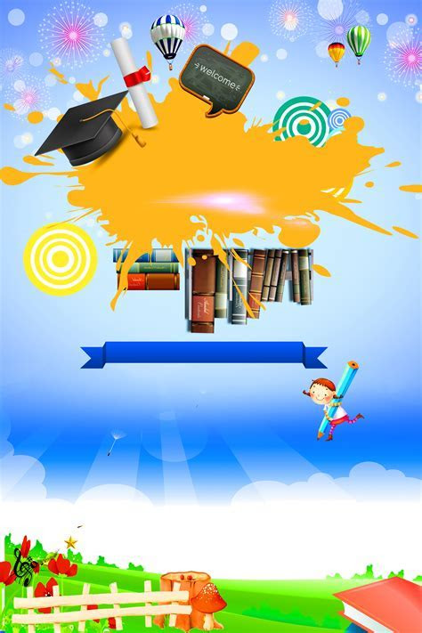 Education And Training Poster Background, Education, Train